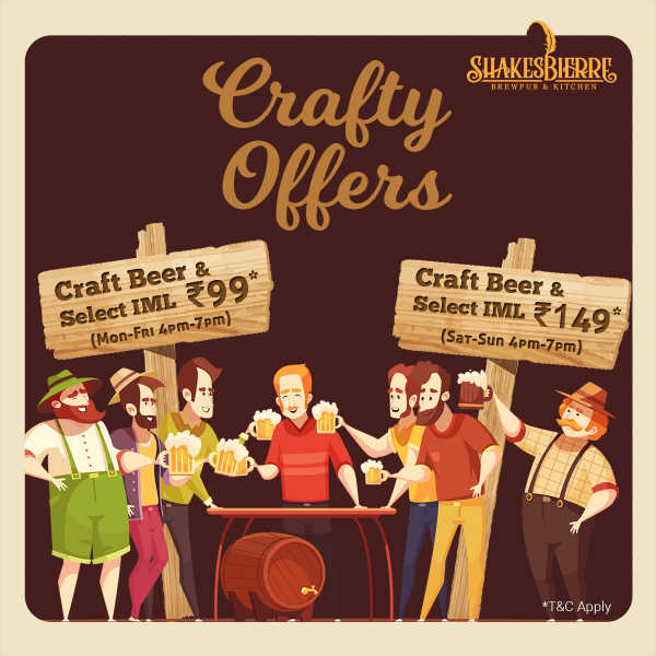 Special Offer on Craft Beers