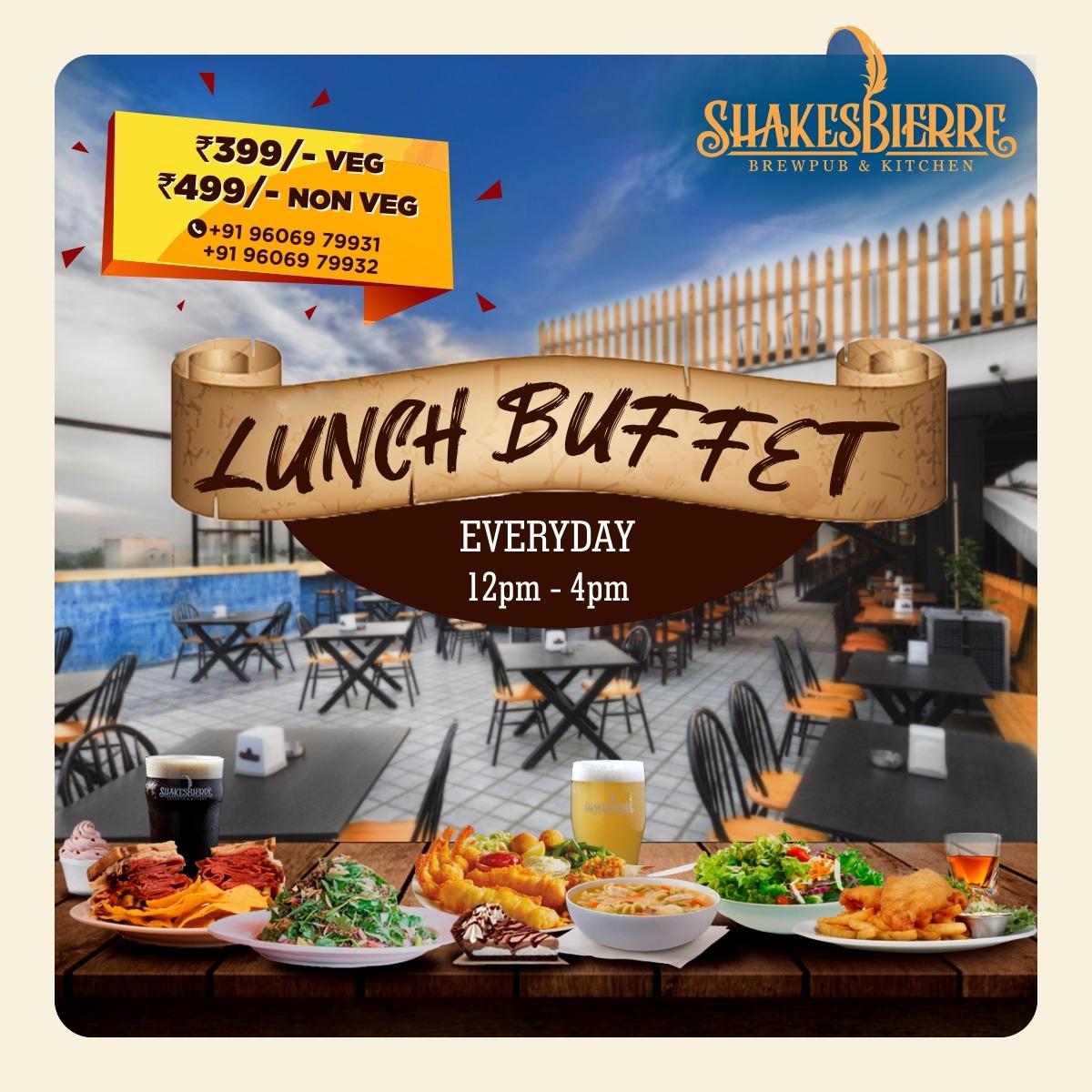 Lavish Lunch Buffet