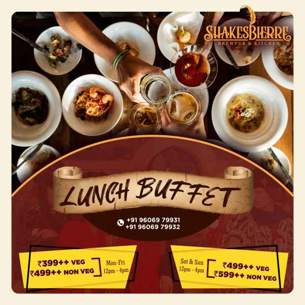 Lavish Lunch Buffet